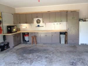 using kitchen cabinets in garage happy s day garage renovation for my simply 8797