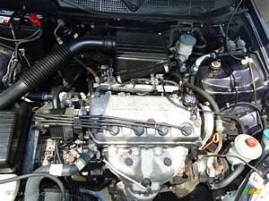 1998 Honda Civic Cx Hatchback Engine Photos