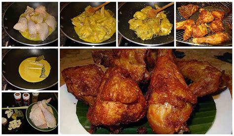 Kamu bisa nih mengkreasikan beberapa resep ayam goreng gurih ini di rumah. Resep Ayam Goreng Bumbu Kuning. Gurihnya Sampai Ke Tulang ...
