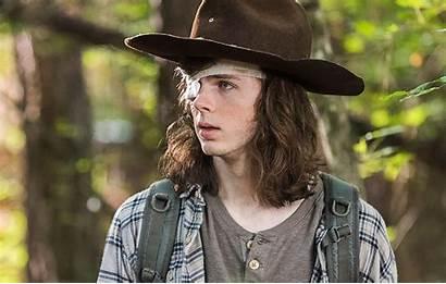 Carl Walking Dead Grimes Negan Scene