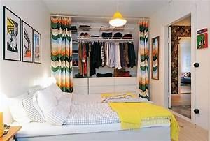 Bild Fürs Schlafzimmer : ideen f r offenen kleiderschrank im schlafzimmer ~ Michelbontemps.com Haus und Dekorationen