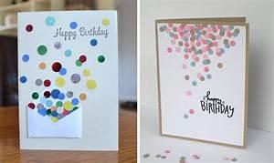 Geburtstagskarten Selber Machen Ausdrucken : geburtskarten gestalten 29 ideen zum nachbasteln ~ Frokenaadalensverden.com Haus und Dekorationen
