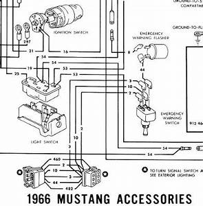 1966 Mustang Replacement Underdash Wiring Harness