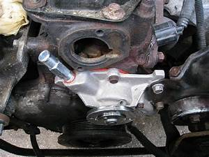Service Manual  Remove 1995 Jeep Grand Cherokee Water Pump