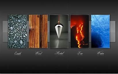 Elements Five Wallpapers Element Elementos Shui Feng