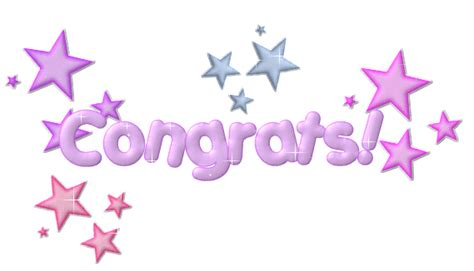 Congratulations  Animated Glitter Gif Images