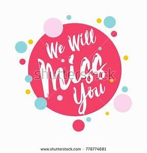 We Will Miss You : farewell stock images royalty free images vectors shutterstock ~ Orissabook.com Haus und Dekorationen