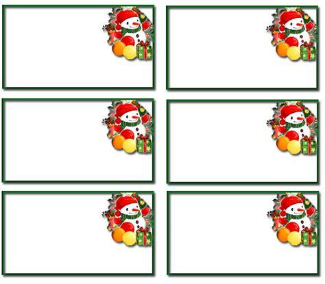 free christmas name tags template 6 free holiday