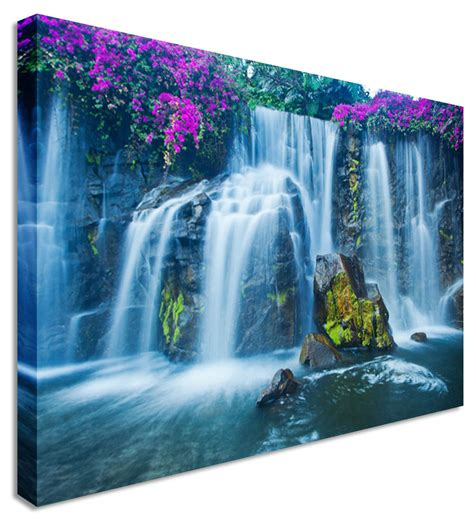Large Picture Purple Blossom On Waterfall Canvas Wall Art. Small Kitchen Design With Island. Ceiling Ideas For Kitchen. Island Kitchen Light. White Painted Kitchen Cabinets. Beach Kitchen Ideas. White Kitchen And Dining Room. Kitchen Island Modern. Cost To Remodel A Small Kitchen