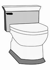 Toilet Coloring Pages Printable sketch template