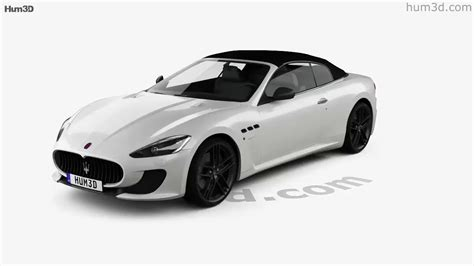 Maserati 2013 Models by Maserati Grancabrio Mc 2013 3d Model By Hum3d