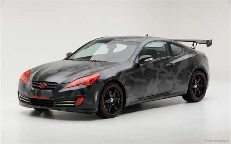 Hyundai Street Concepts Genesis Coupe Wallpaper Hd Car