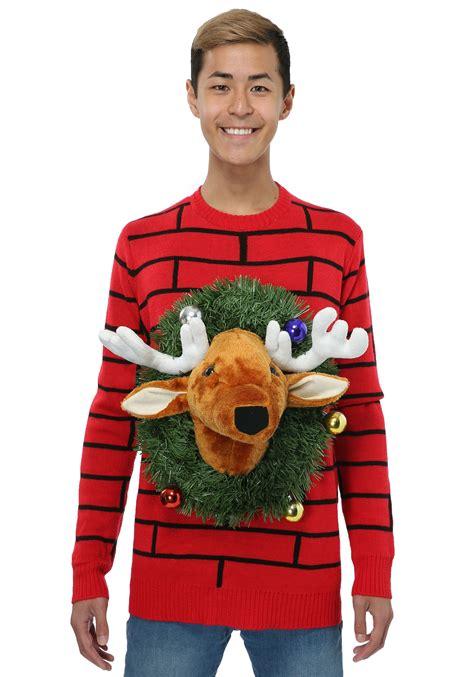 funniest sweaters reindeer sweater