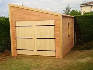 livraison d39un garage en bois homekit With garage en bois en kit