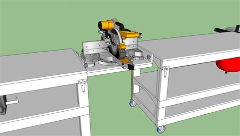 workbench plans tommys rolling workbench  miter