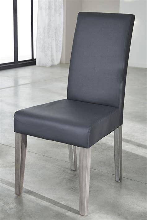 chaise salle a manger grise chaise namur gris