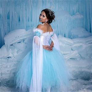 Snow Princess, Ice Queen or Winter Fairy Costume with ...