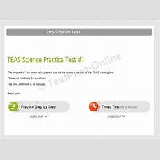 Teas V Science Test Online Practice Testpreponline