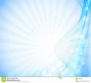 Bright blue background stock vector. Image of composition ...