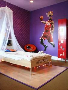 teen boys sports theme bedrooms room design ideas With boys room ideas sports theme