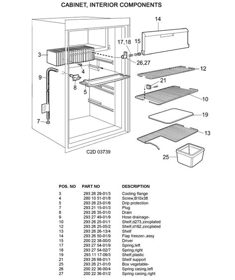 dometic rm26 28 wiring schematic refrigerator