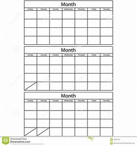 blank 3 month calendar printable calendar template 2018 With blank one month calendar template