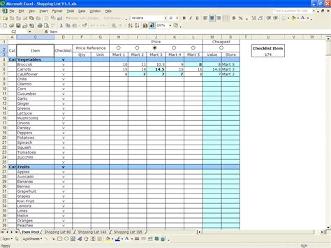 inventory control template  count sheet  db excelcom