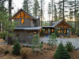 Top Photos Ideas For Mountain Style Home Plans by Front Yard From Hgtv Home 2014 Pictures And