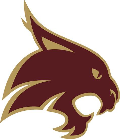 texas state bobcats secondary logo ncaa division