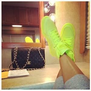 Shoe Spotlight The Gucci Coda Neon Leather Hi top