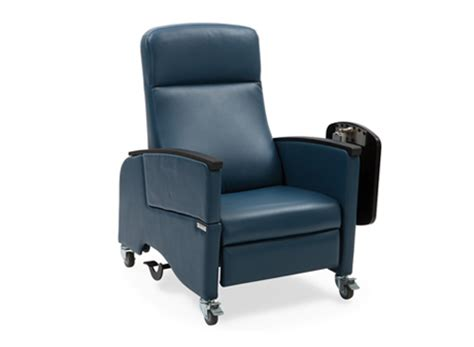 of care lay flat recliner hill rom