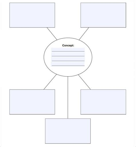 Free Nursing Concept Map Template by Concept Map 7 Free Pdf Doc Sle Templates