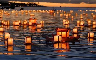 Lantern Festival Lanterns Floating Wallpapersafari