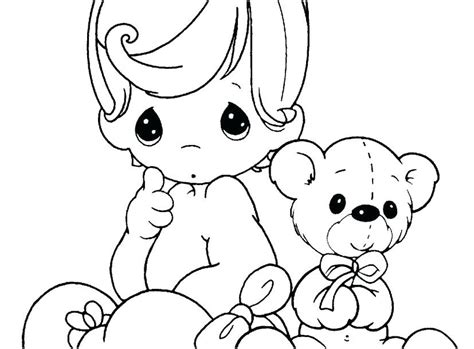 Baby Doll Coloring Pages Eskayalitim