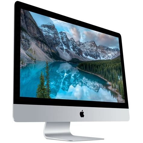 ordinateur de bureau 27 pouces apple imac 27 pouces avec écran retina 5k mk482fn a
