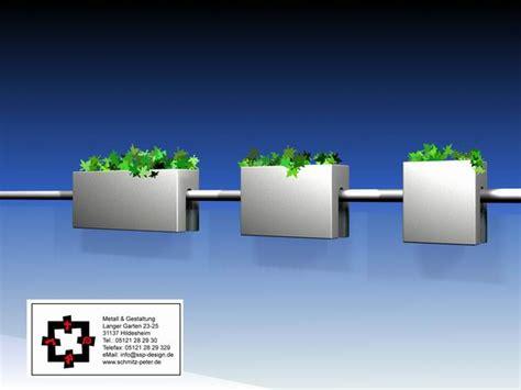 Blumentopf Halterung Für Balkongeländer by F 252 R Den Kr 228 Utergarten Am Balkon
