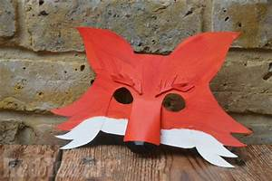 fantastic mr fox diy mask for world book day party With fantastic mr fox mask template