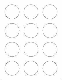2quot circle labels ol2682 With circle label sheets