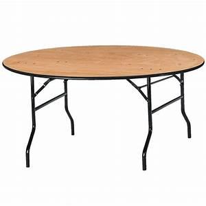 Table Pliante Ronde : table ronde pliante pour collectivit s ~ Teatrodelosmanantiales.com Idées de Décoration