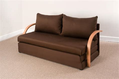 Fold Out Double Foam Sofa Bed Chloe  Free Delivery Ebay