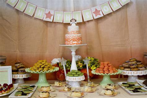 Star Wars Princess Leia Baby Shower Dessert Table Love