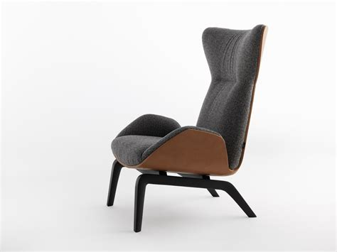 High-back Armchair Soho By Horm.it Design Studio Balutto