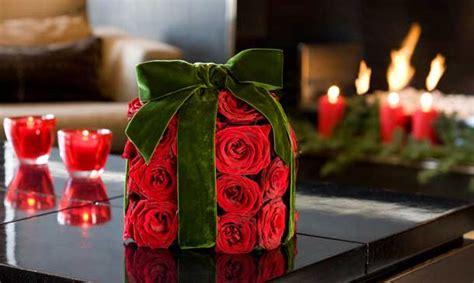 decorar la navidad  plantas  flores