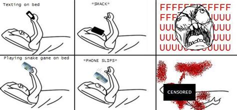 Meme Phone Falling On Face - image 234392 text in bed drop phone on face know your meme