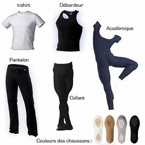 Les tenues pour les garçons Passion Ballet