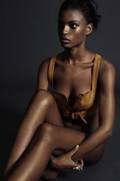 Most Gorgeous Black Goddess Tsheca White  Sweet Black