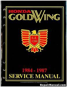 1984  U2013 1987 Honda Gl1200 A    I Goldwing Touring Motorcycle