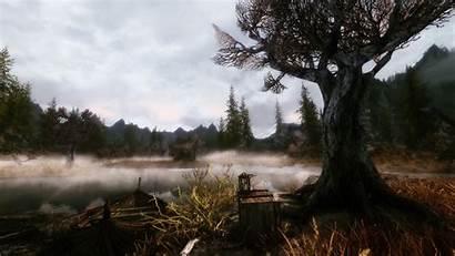 Fantasy 1080p Wallpapers Landscape Scenery Skyrim Desktop