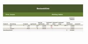 Einnahmen Ausgaben Rechnung Verein : inventarliste als kostenlose vorlage f r excel excel ~ Themetempest.com Abrechnung