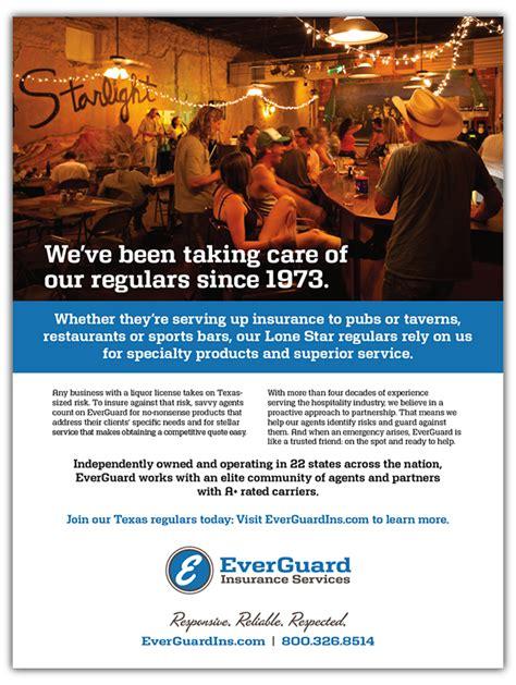 insurance company print ads  behance